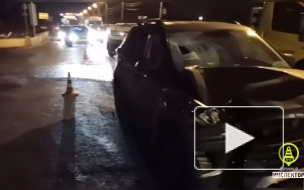 На Таллинском шоссе в Петербурге водитель насмерть сбил пешехода