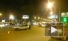 На площади Александра Невского мотоциклист в ДТП повредил позвоночник