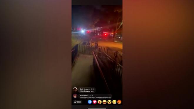 В США открыли огонь по людям во время комендантского часа