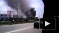 В Челябинске произошел пожар на лакокрасочном заводе