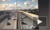 Появилось видео аварии из девяти машин на КАД
