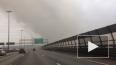 На Пискаревском проспекте горят производственные склады