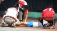 Школьник умер прямо на теннисном корте