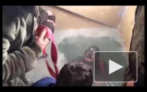 В Якутске водолаз достал со дна реки работающий iPhone 7, пролежавший 13 часов в воде