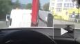 В Сочи эвакуатор забрал машину вместе с водителем