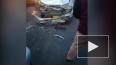 Видео из Бурятии: трассу не поделили три авто