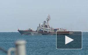 Более 20 кораблей ВМФ РФ заблокировали суда НАТО в Черном море