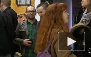 """Возвращение арт-группировки ПРОТЕЗ : вернисаж в галерее """"Люда"""""""