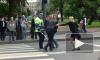 Водитель и пассажир подрались посреди проспекта на Петроградке