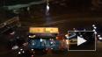 В Кудрово пассажирский автобус столкнулся с легковушкой