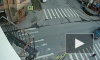 Видео: на Петроградке пешеход попал под колеса автомобиля