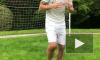 Видео: Ибрагимович приступил к тренировкам