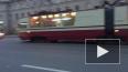 На проспекте Энгельса авария сковала движение трамваев