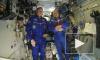 Космонавты поздравили Ленинградскую область с орбиты