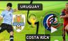 В сети появилось видео голов и лучших моментов матча Уругвай - Коста-Рика
