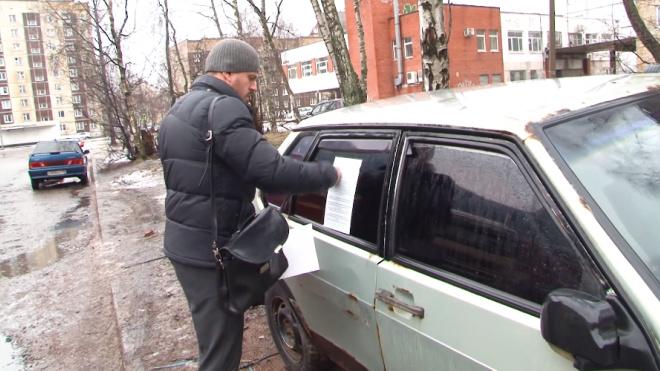 Видео: как Выборг очищают от автохлама