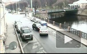 ВАЗ против Тойоты. ДТП у 2-го Садового моста