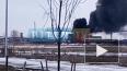 На Софийской произошел пожар в промзоне
