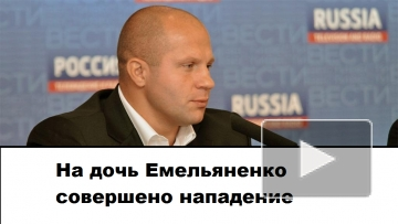 После нападения на дочь Емельяненко завели уголовное дело