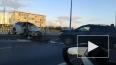 Lexus вылетел на Октябрьскую набережную после столкновения ...