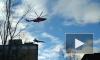 Под Петербургом опять видели истребитель: борт на тросе перевозили на аэродром
