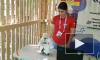 Видео: Робот в папахе танцует лезгинку перед Дмитрием Рогозиным