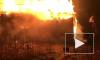В Ленобласти загорелся дом: пожарныеспасли дедушку и собаку