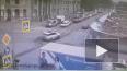 Видео: на  пересечении Большого Сампсониевского и ...