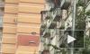 Видео: на Дунайском проспекте горит квартира в многоэтажном доме
