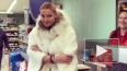 Видео: Волочкова сняла странное видео в петербургском ...