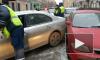 Пьяный водитель смял пять припаркованных автомобилей на Верейской