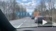 Одна легковушка догнала другую на Зеленогорском шоссе
