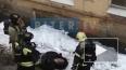 Видео: в пожаре на Рузовской улице спасли мужчину