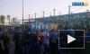 """Видео: перед матчем """"Зенита"""" у """"Газпром Арены"""" выстроилась очередь"""