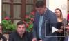 Михаилу Саакашвили вручили протокол о нарушении границы Украины