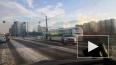 На проспекте Славы столкнулись кроссовер и автобус