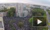 Ураза-Байрам парализует движение транспорта на Петроградской стороне