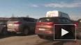 """Автомобилисты устроили """"стихийную парковку"""" на КАД"""