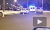 Видео: в Петербурге водитель пытался скрыться от полиции, но попал в смертельное ДТП