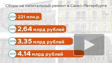 Капитальный ремонт в Северной столице: в 2018 году отремонтируют 1740 домов