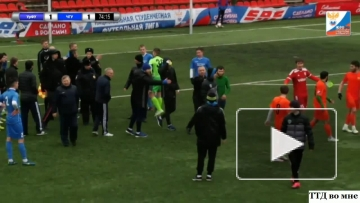 Беспредел на футбольном поле. Чеченцы толпой избили игрока