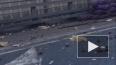 Видео: грузовик растерял овощи на севере КАД
