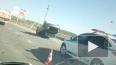 Жесткое видео из Тюмени: трассу не поделили две легковуш...