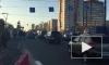 Транспортный коллапс: на проспекте Славы сломались светофоры, трамваи стоят