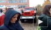 Видео: Из-за пожара в омской школе эвакуировали 520 человек