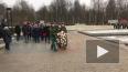В День снятия блокады Ленинграда на Серафимовском ...