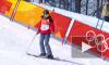 Отличилась: В соревнованиях по хафпайпу на ОИ венгерская лыжница скатилась без трюков по склону