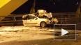 Фото и видео: на КАД молоковоз протаранил 5 машин