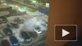 Видео: на Королева неизвестный поджег три Хендая