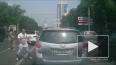 Межнациональный конфликт на дороге попал на видео